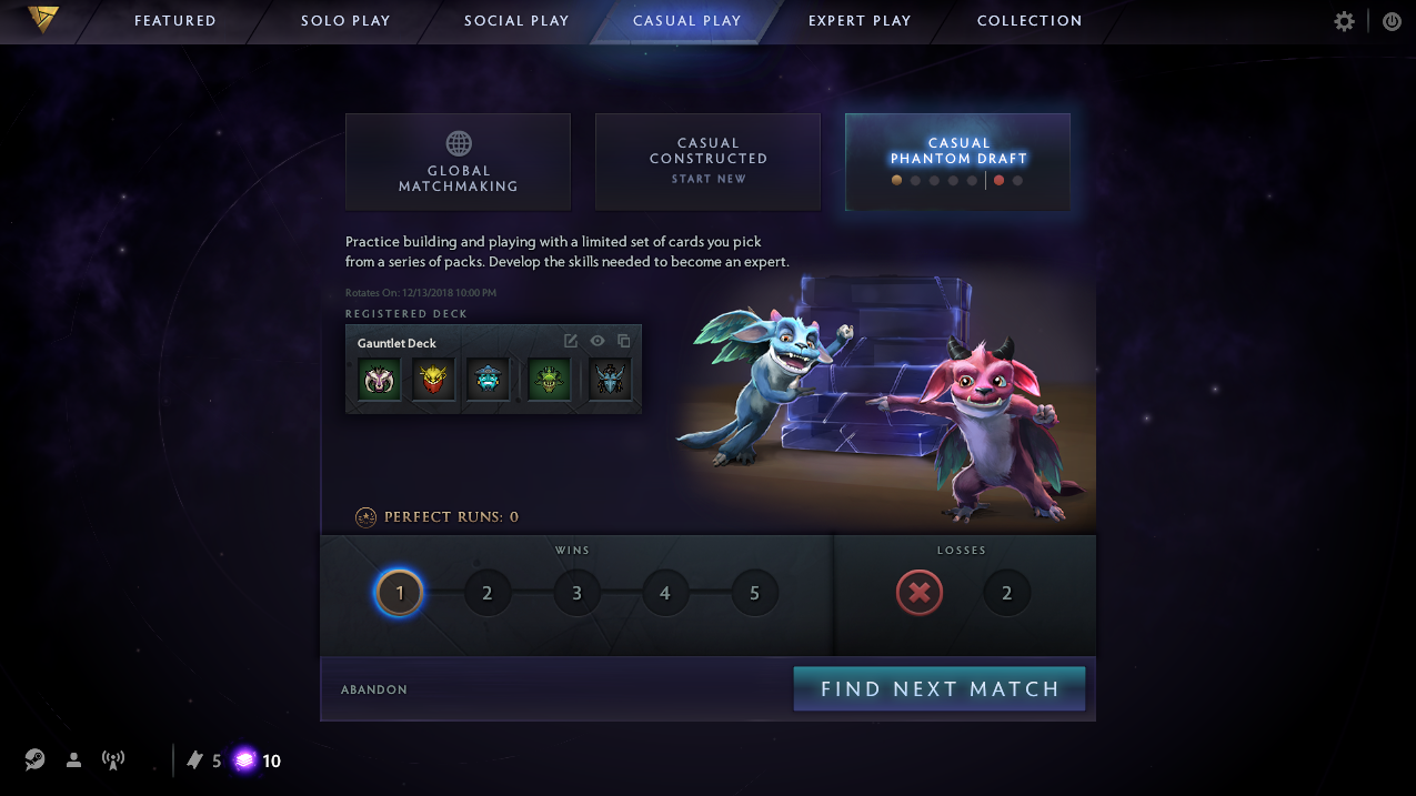 DotA 2 matchmaking cooldown