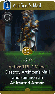 Artificer's Mail Card