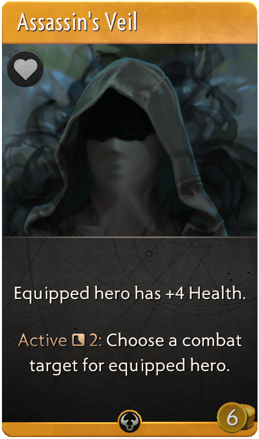 Assassin's Veil Card