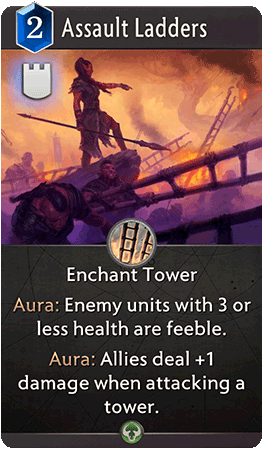 Assault Ladders Card