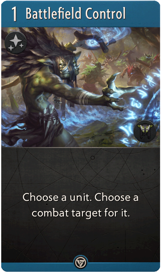 Battlefield Control : Artifact Card