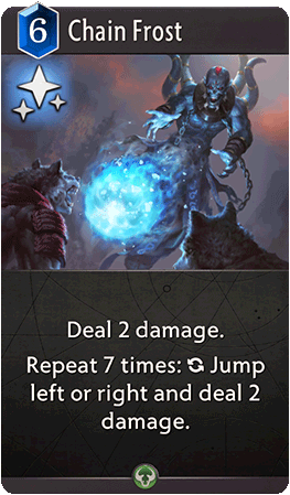 Chain Frost Card