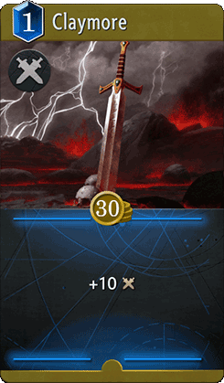 Claymore Card