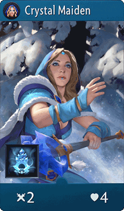 Crystal Maiden Card