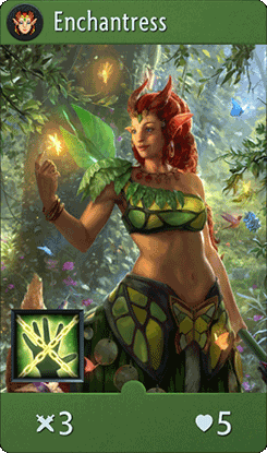 Enchantress Card