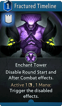 Fractured Timeline : Artifact Card