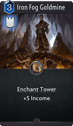 Iron Fog Goldmine Card