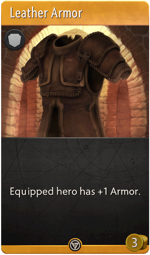 Leather Armor Card