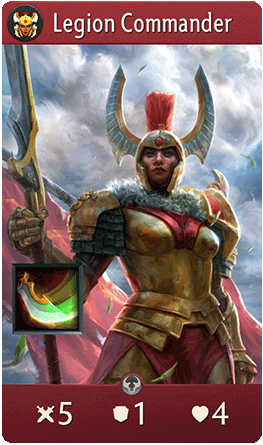 Legion Commander Card