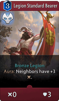 Legion Standard Bearer Card
