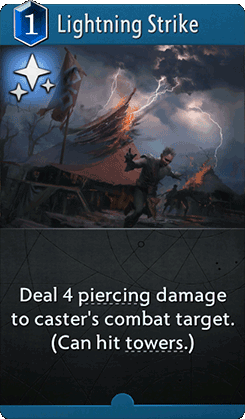 Lightning Strike Card
