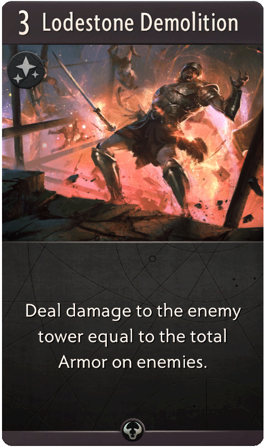 Lodestone Demolition Card