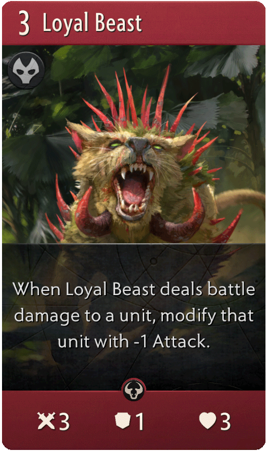 Loyal Beast Card