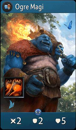 Ogre Magi : Artifact Card