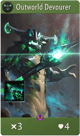 Outworld Devourer Card