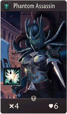 Phantom Assassin Card