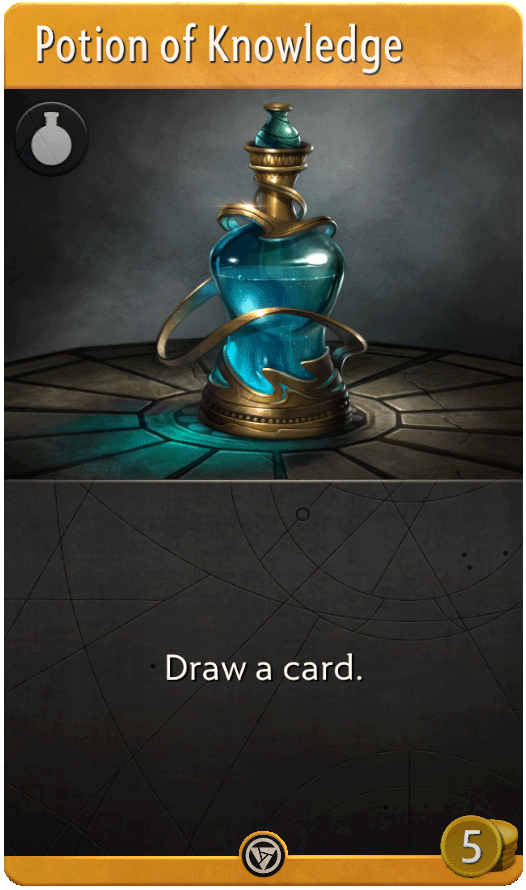 Potion of Knowledge Card