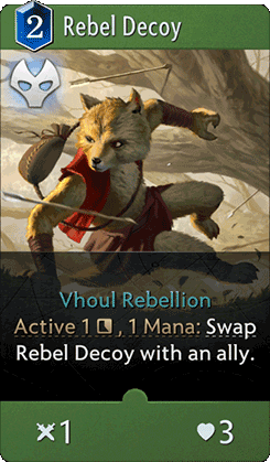 Rebel Decoy Card