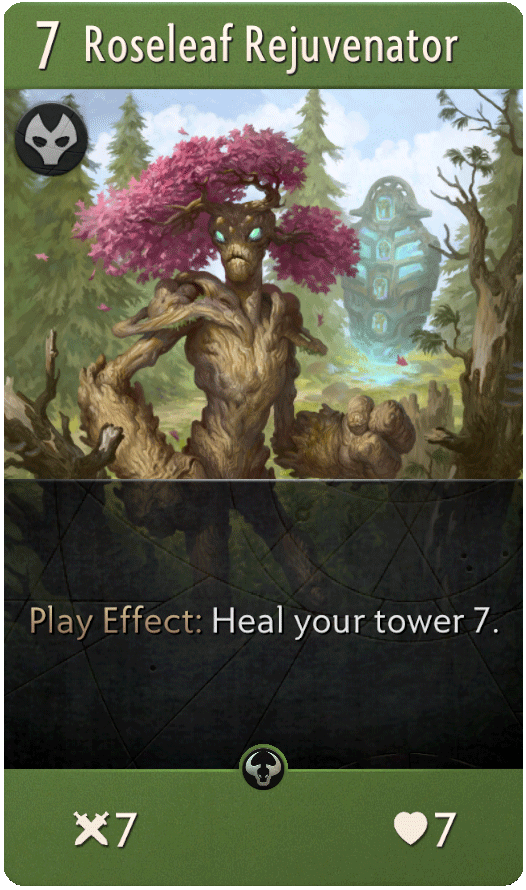 Roseleaf Rejuvenator Card