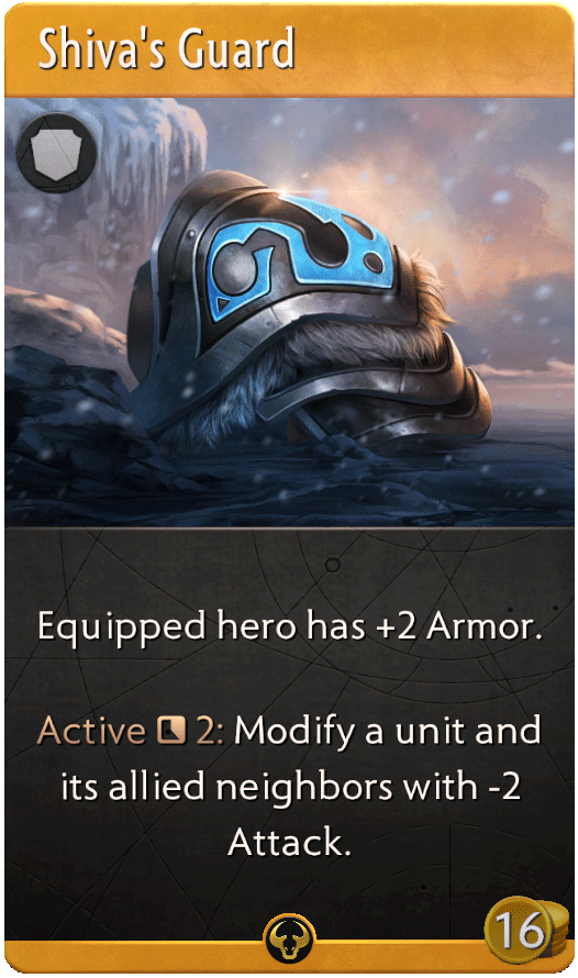 Shiva's Guard Card