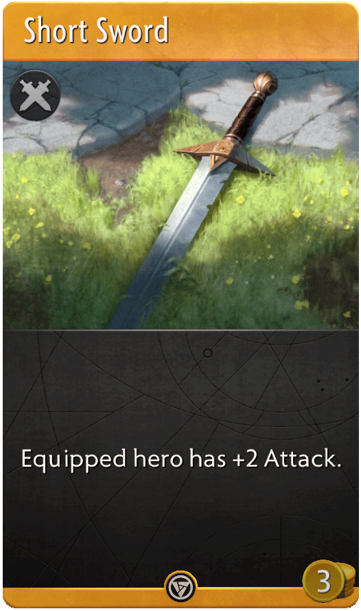 Short Sword Card