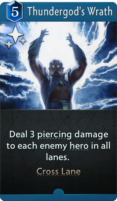 Thundergod's Wrath Card