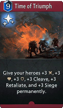 Time of Triumph Card
