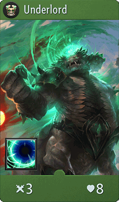 Underlord Card