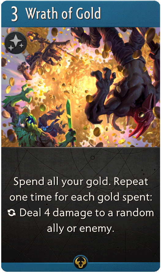 Wrath of Gold Card