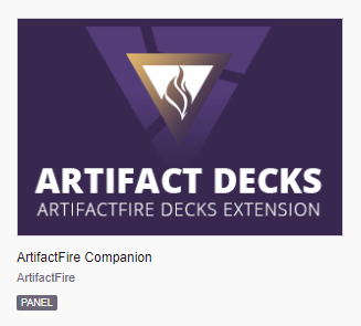 Artifact Twitch Extension - ArtifactFire Companion [ArtifactFire]